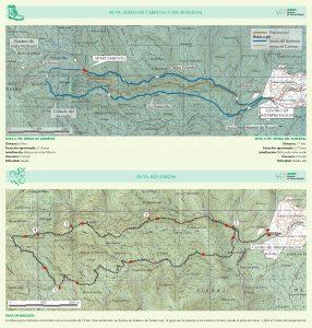 Descargar el mapa y el folleto del hayedo en pdf