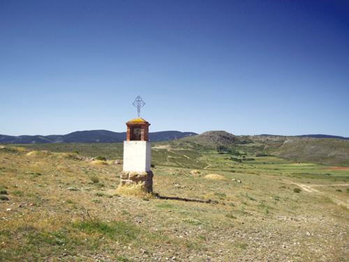 Pairón dedicado a Nuestra Señora del Tremedal y a San Ramón Nonato