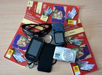 Mapas, gps, teléfono móvil, cámara de fotos...