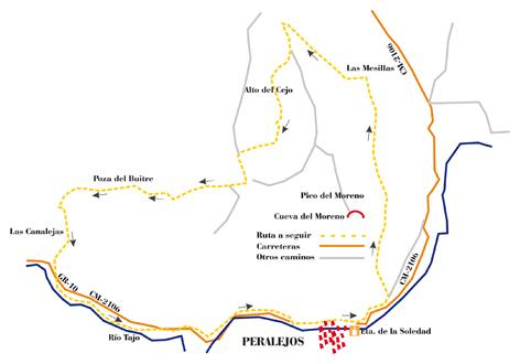 """Ruta SL-7 """"Barranco del Escalerón y Río Tajo"""""""
