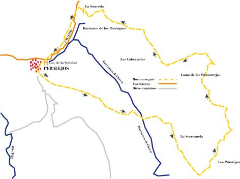 """Ruta SL-9 """"La Serrezuela y las Pantarrejas"""""""