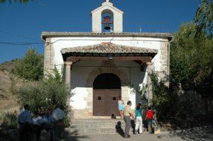 Ermita de la Virgen de la Oliva en Maratilla de los Meleros