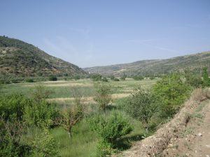 Paisaje cerca de Pastrana