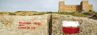 Señalización de GR-160 El camino del Cid