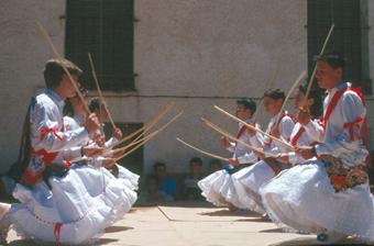 Danzas y Loas de San Acacio en Utande
