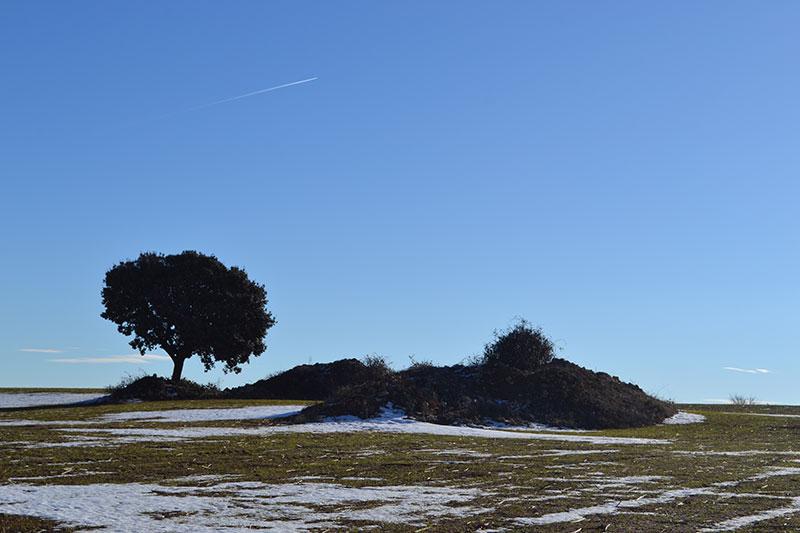 La Alcarria nevada