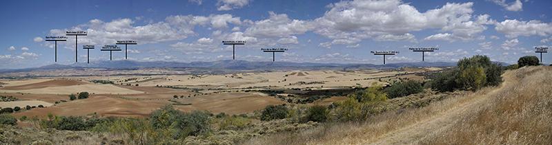 Vista de Guadarrama, Somosierra y Sierra de Ayllón