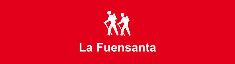Vitola de la ruta La Fuensanta