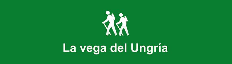 Vitola de la ruta La Vega del Ungría