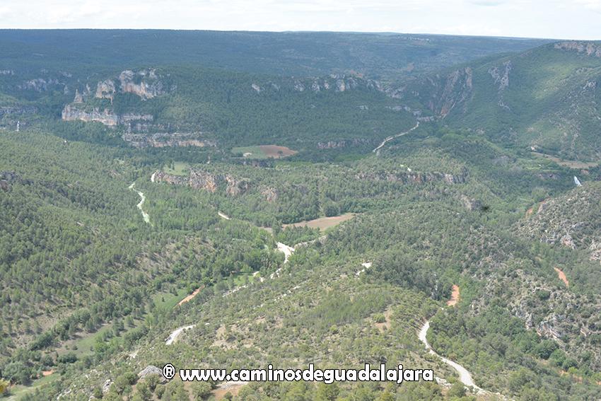 Alto Tajo desde el castillo de Alpetea