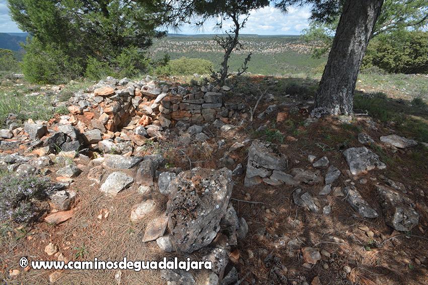 Edificaciones en el Castillo de Alpetea