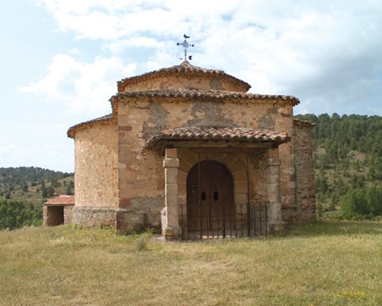 Ermita de San Antonio en Cobeta