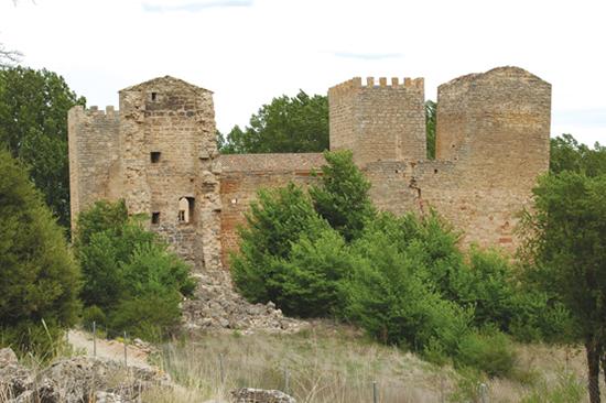 Castillo de Santiuste en Corduente