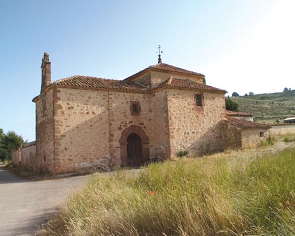Ermita de la Virgen de la Salud en Corduente