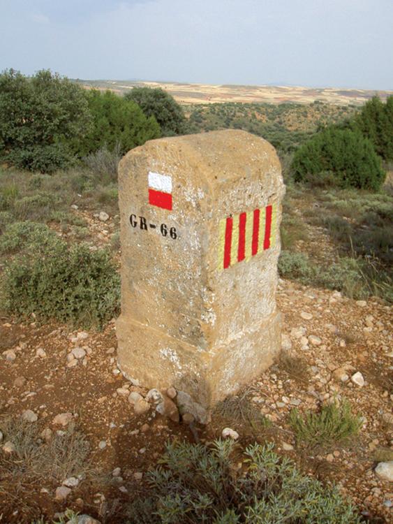 Mojón entre Aragón y Castilla