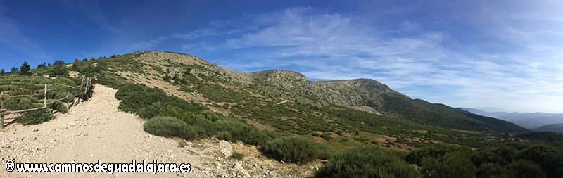 Bella vista de la mole del Peñalara