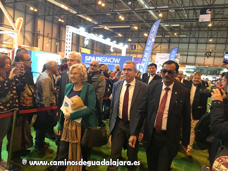 La alcaldesa de Madrid, Manuela Carmena, inauguró Expotural