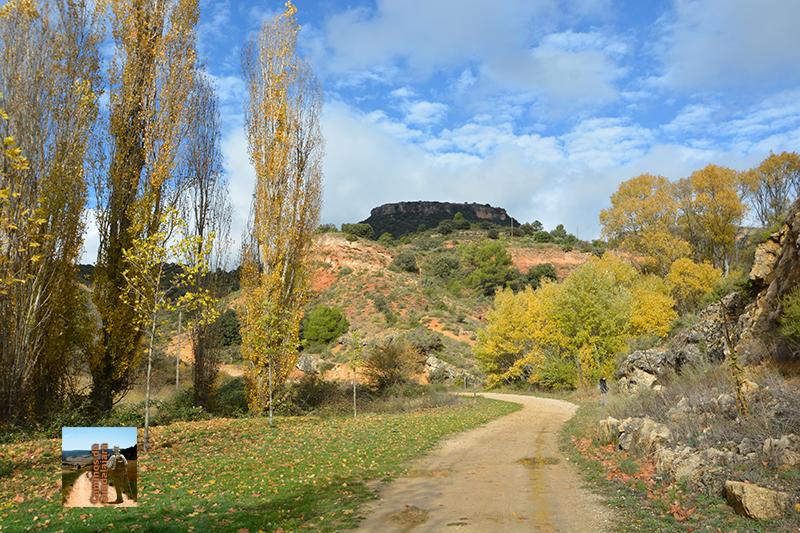 Otoño a poco de salir de Viana de Mondéjar