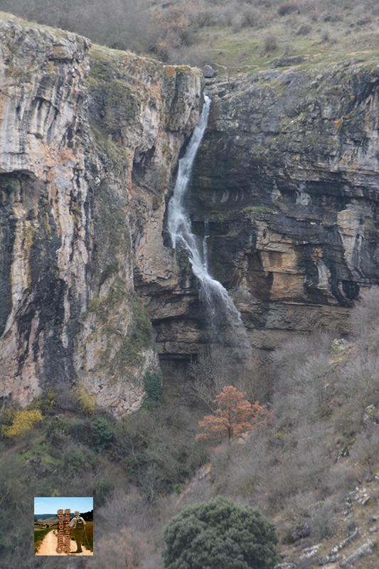 Cascada del Gollorío en Pelegrina