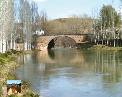 Trillo. Puente y río Tajo
