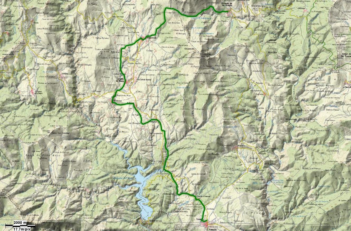 Etapa 2: Valverde de los Arroyos-Tamajón