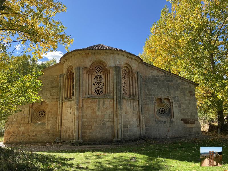 Albendiego con la maravilla iglesia de Santa Coloma