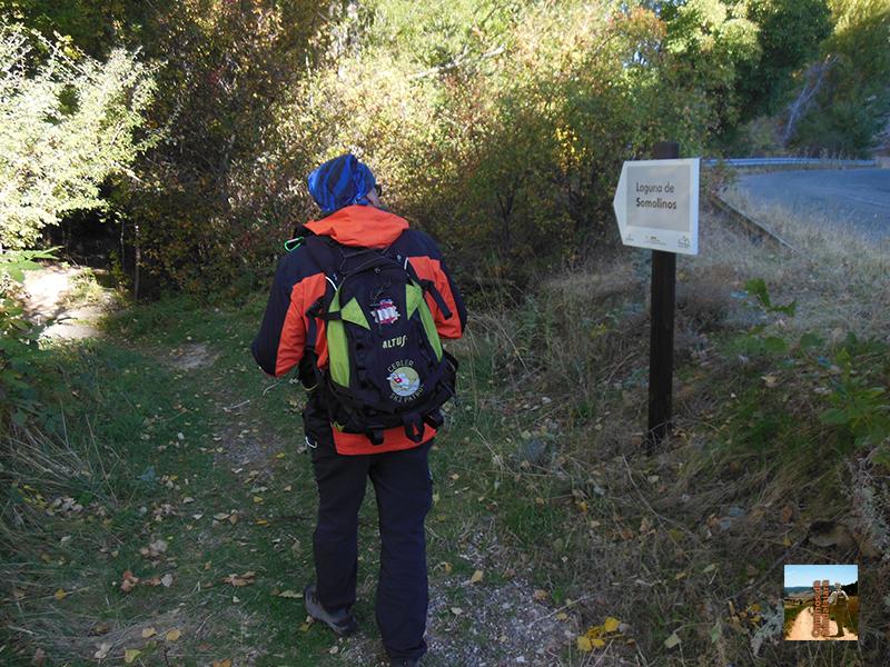 Camino de la Laguna de Somolinos