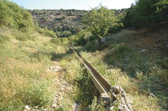 Fuente de la Arpilla. Nacimiento del río Badiel