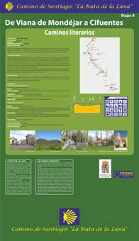 Panel etapa 2.-Viana de Mondéjar-Cifuentes