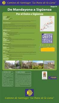 Panel etapa 4.-Mandayona-Sigüenza