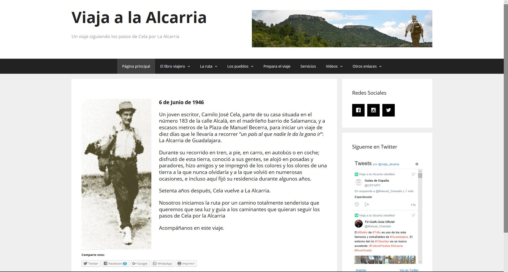 Viaja a la Alcarria