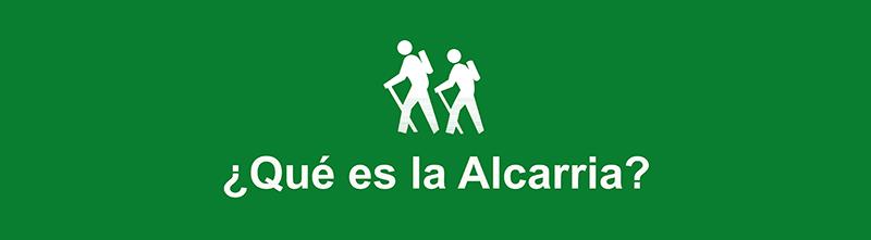 Vitola de la ruta ¿Qué es la Alcarria?
