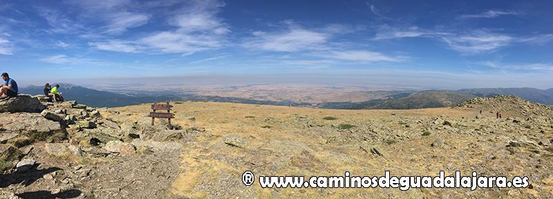 Las tierras de Segovia desde la cumbre