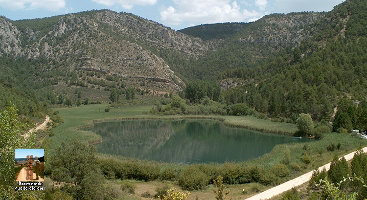 Laguna de Taravilla, lugar de paso del GR-10