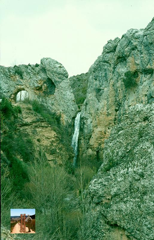 Cascada del Portillo en Huertapelayo