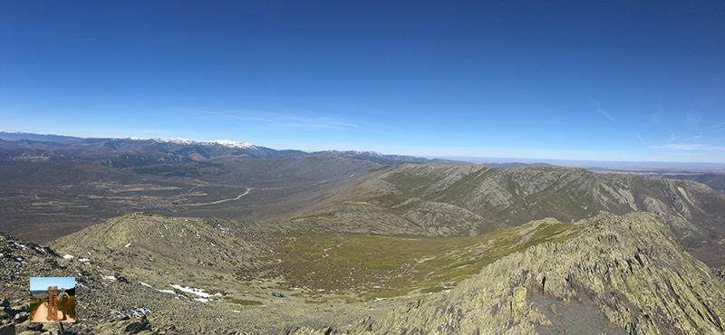 La Sierra de Ayllón desde el Ocejón