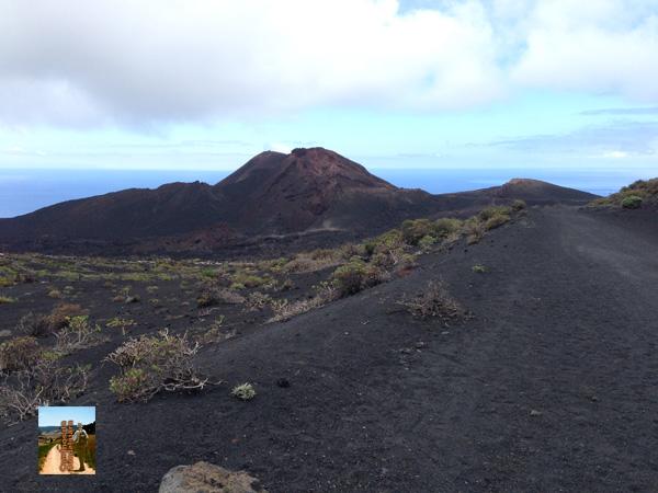 El volcán Teneguia, el último que entró en erupción en 1971