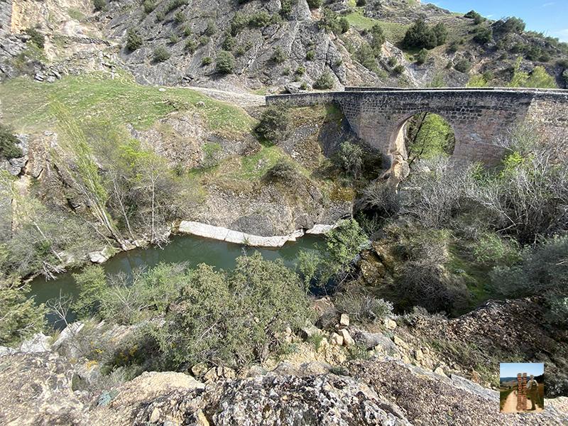 Puente árabe sobre el Sorbe